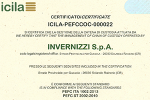 PEFC certificate expended to poplar particleboard from January 27th 2015