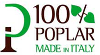 100% POPLAR MADE IN ITALY